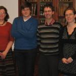 Les promoteurs et les chercheurs du projet GARDEN